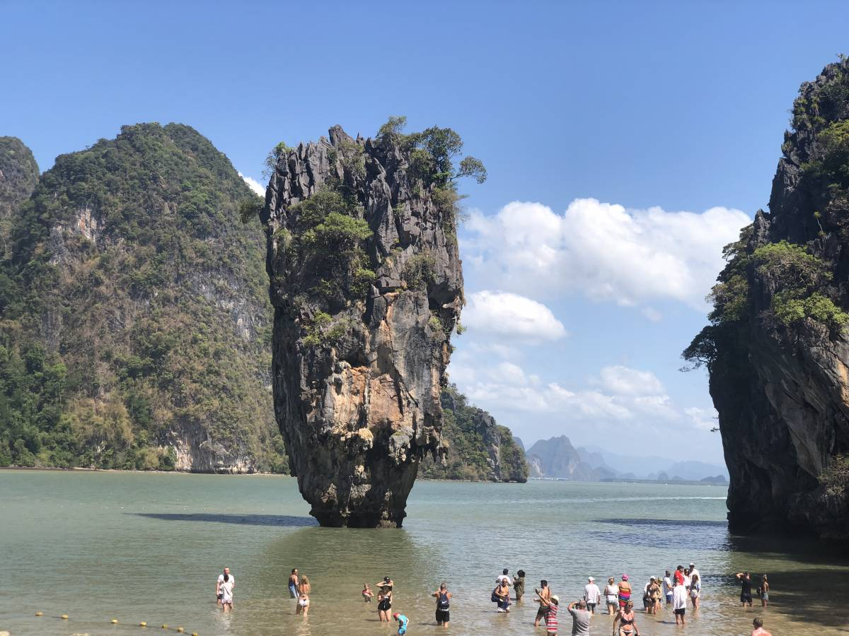 James Bond Island Phang Nga Bay 1 Day Tour By Speedboat Big Boat Lunch Canoeing From Phuket